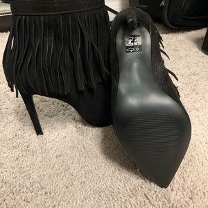 Aldo Shoes - Aldo fringe boots